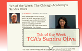 Tch of the Week: TCA's Sandra Oliva