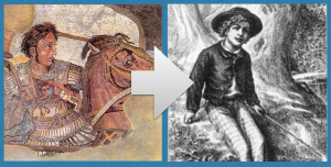 """Themes such as """"Power"""" provide a structure to teach Alexander the Great and Tom Sawyer"""