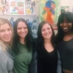 Courtnie Scharf - McNair, Lauren Bollini - Sherman, Amy Franklin,  - Piccolo, Ayanna Peden - Solorio HS