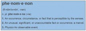 phenomenon definition pic