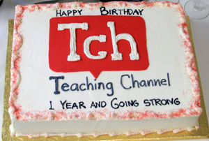 Teaching Channel cake