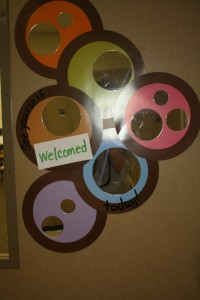 Classroom Welcome Mirror