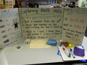elementary student math project