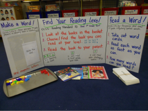 elementary student reading project