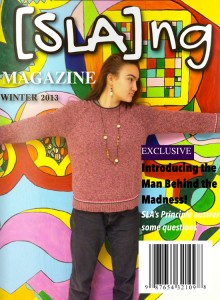 SLAng Magazine cover