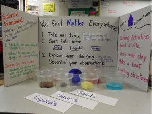 elementary student science project