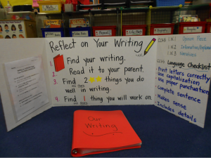 elementary student writing project
