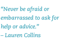 never be afraid to ask for help quote