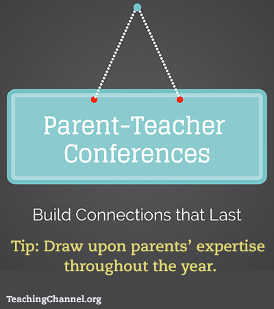 Parent Teacher Conferences Motto