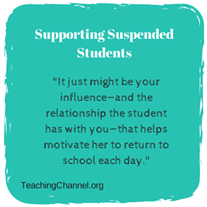Supporting Suspended Students