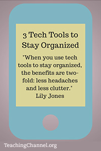 what tools do you use to stay organized