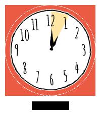 clock 1 hr