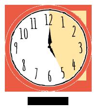 clock 5 hrs