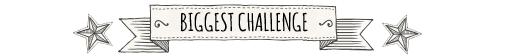 Biggest challenge