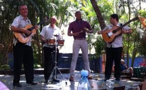 Kevin Bennett in Cuba