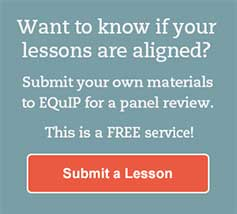 Want to know if your lessons are aligned?