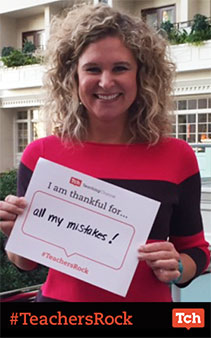 what Sarah is thankful for
