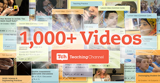 1000 videos for teachers