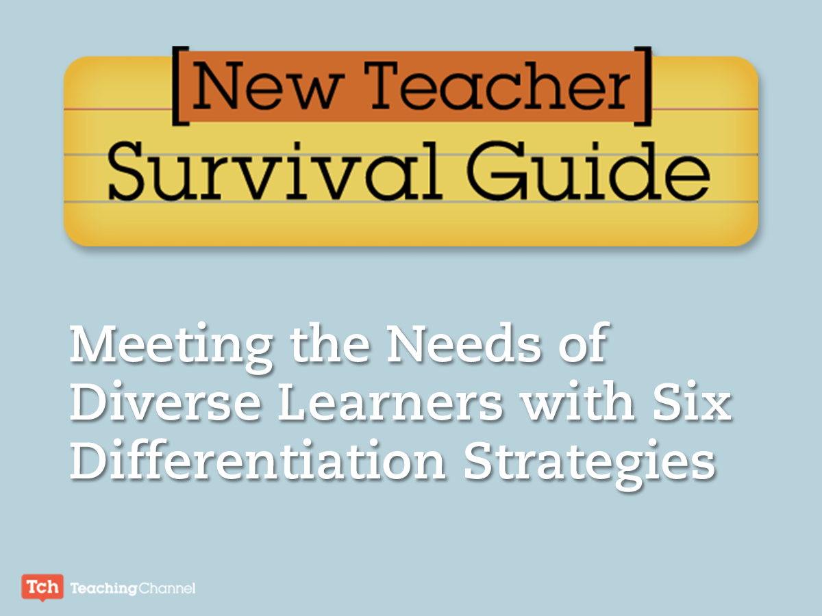 6 Differentiation Strategies For New Teachers