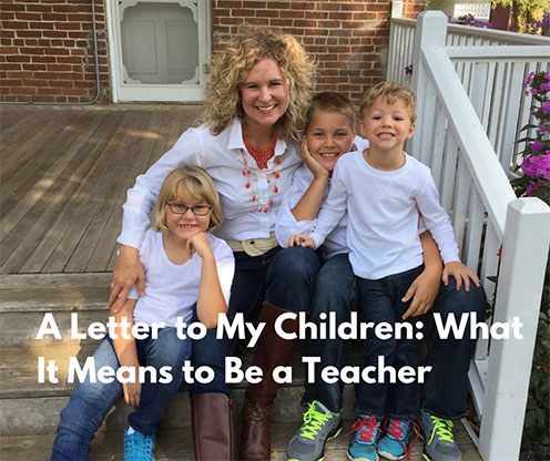 A Letter to My Children - What It Means