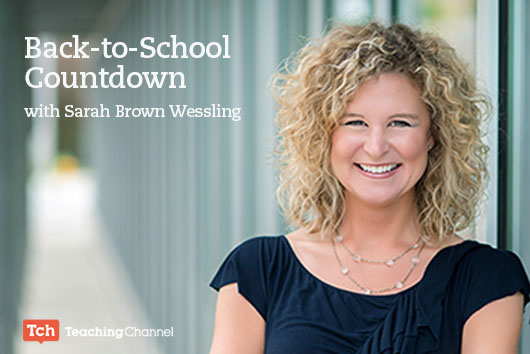 Back to School Countdown with Sarah Brown Wessling