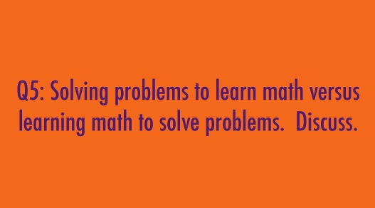 solving problems discussion points