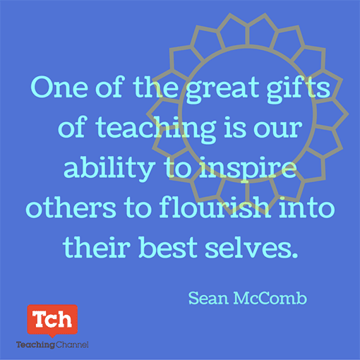One of the great gifts of teaching