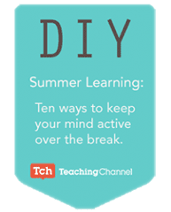 Summer Learning DIY