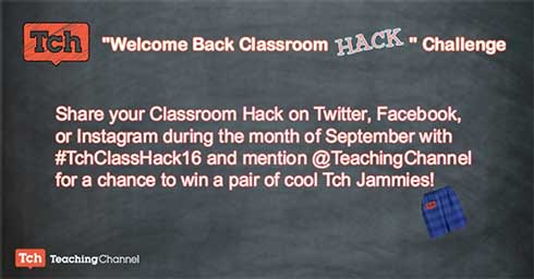 Welcome Back Classroom Hack Challenge