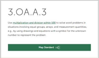Common Core Standards Math: 3.OA.A.3