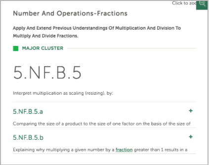 Common Core Standards Math: 5.NF.B.5