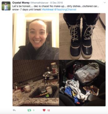 TchItReal tweet Crystal Morey