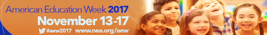 American Education Week 2017 banner