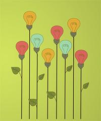 light bulb flowers