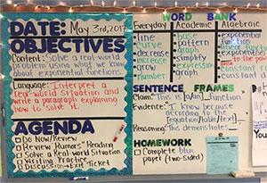 classroom board photo