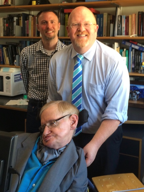 Stephen Hawking, Para, and Brett Bigham