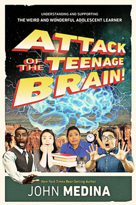 Attack of the Teenage Brain Book Cover