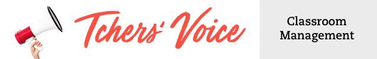 Tchers Voice Classroom Management