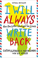 I will always write back book cover image