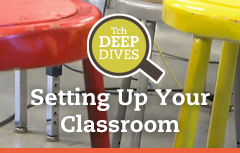 Setting Up Your Classroom Deep Dive Promo