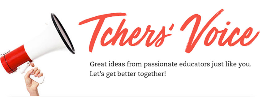 Blog with Us on Tchers' Voice