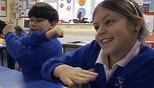 Hand Gestures: Movements Make Math Memorable