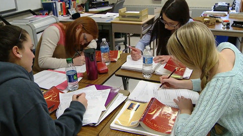 Author's Choices: Collaborating in Close Reading