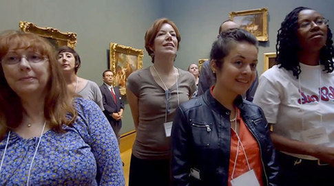 Building Language Skills by Talking About Art