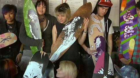 Art & Skateboards: An Integrated Program