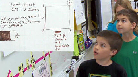 Multiplying Whole Numbers & Fractions