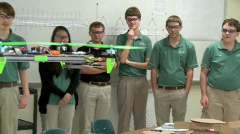 12 O'Quad High: Trigonometry in Flight