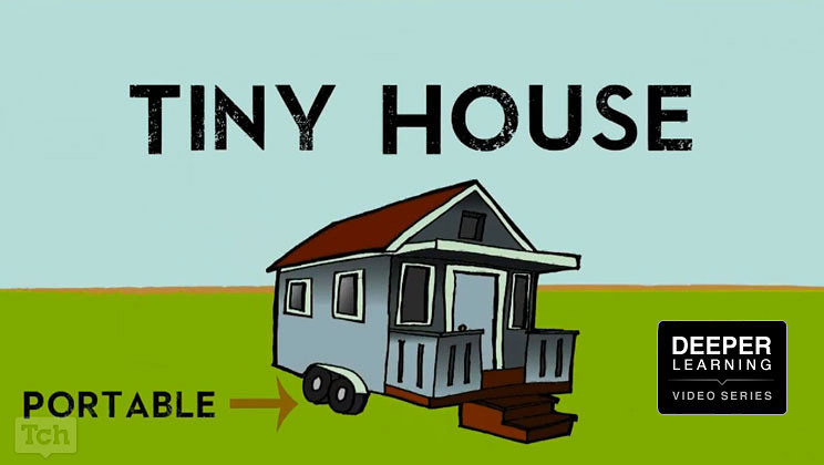 tiny house collaborative project amongst many students (deeperseries high  tech high deeper learning